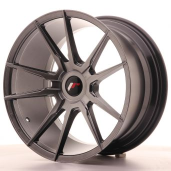 Japan Racing Wheels - JR-21 Hiper Black (18x9.5 inch)
