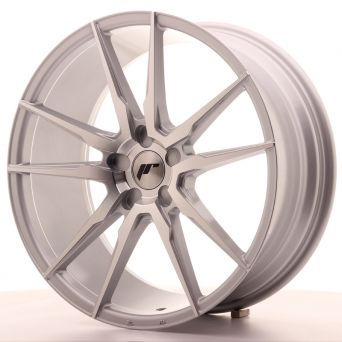 Japan Racing Wheels - JR-21 Silver Machined (20x8.5 inch)