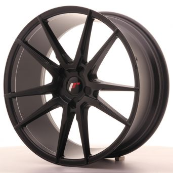 Japan Racing Wheels - JR-21 Matt Black (20x8.5 Zoll)
