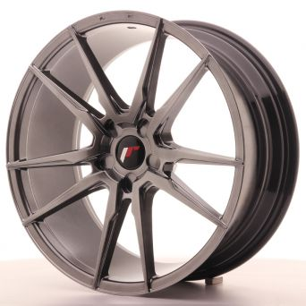 Japan Racing Wheels - JR-21 Hiper Black (20x8.5 Zoll)