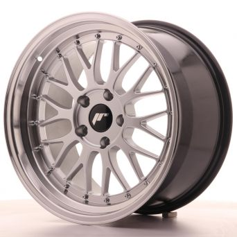 Japan Racing Wheels - JR-23 Hiper Silver (18x9.5 inch)