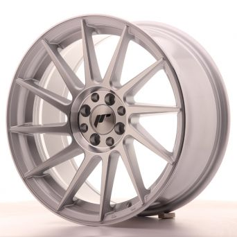 Japan Racing Wheels - JR-22 Silver Machined (17x8 inch)