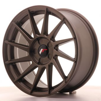 Japan Racing Wheels - JR-22 Matt Bronze (17x8 inch)