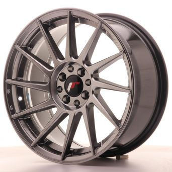 Japan Racing Wheels - JR-22 Hyper Black (17x8 inch)