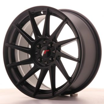 Japan Racing Wheels - JR-22 Matt Black (17x8 inch)