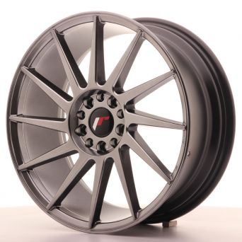 Japan Racing Wheels - JR-22 Hiper Black (18x7.5 inch)