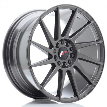 Japan Racing Wheels - JR-22 Hiper Black (18x8.5 inch)