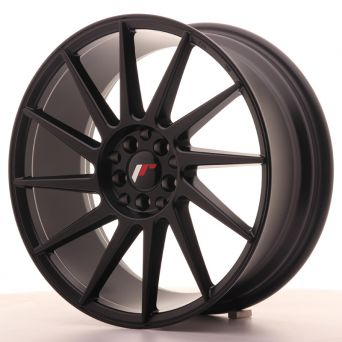 Japan Racing Wheels - JR-22 Matt Black (18x7.5 inch)