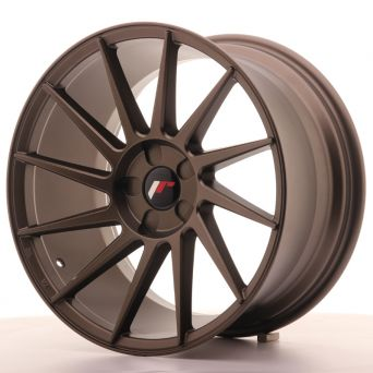 Japan Racing Wheels - JR-22 Matt Bronze (18x9.5 inch)