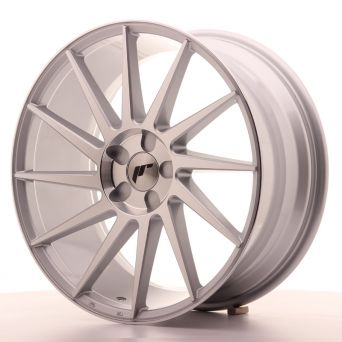 Japan Racing Wheels - JR-22 Silver Machined (19x8.5 inch)