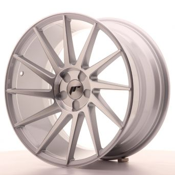 Japan Racing Wheels - JR-22 Silver Machined (19x9.5 inch)