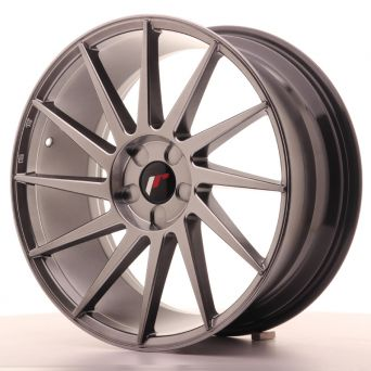 Japan Racing Wheels - JR-22 Hiper Black (19x8.5 inch)