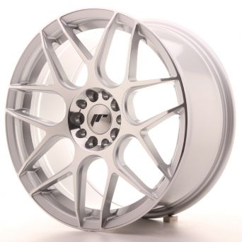 Japan Racing Wheels - JR-18 Silver Machined (18x7.5 inch)