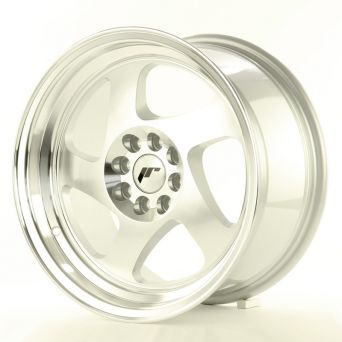 Japan Racing Wheels - JR-15 Machined Silver (16x9 inch)