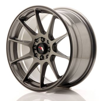 Japan Racing Wheels - JR-11 Hyper Black (17x8.25 inch)