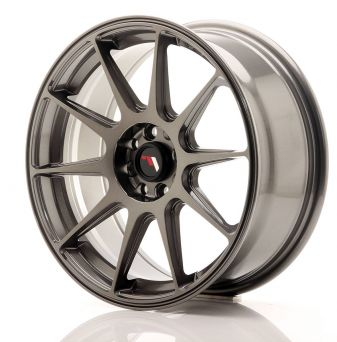 Japan Racing Wheels - JR-11 Hyper Black (17x7.25 inch)