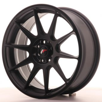 Japan Racing Wheels - JR-11 Matt Black (17x7.25 inch)