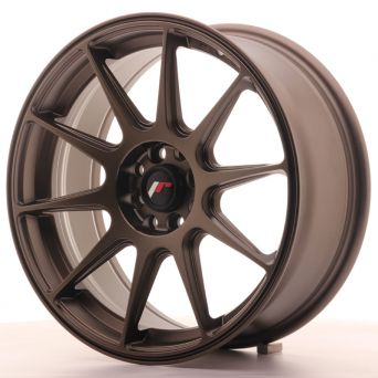 Japan Racing Wheels - JR-11 Matt Bronze (17x7.25 inch)