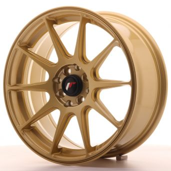 Japan Racing Wheels - JR-11 Gold (17x7.25 inch)