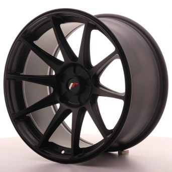 Japan Racing Wheels - JR-11 Matt Black (18x9.5 inch)