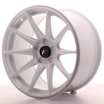 Japan Racing Wheels - JR-11 White (18x9.5 inch)