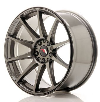 Japan Racing Wheels - JR-11 Hyper Black (19x9.5 inch)
