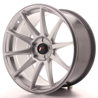Japan Racing Wheels - JR-11 Hyper Silver (19x9.5 inch)