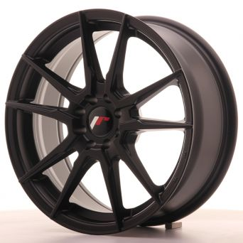 Japan Racing Wheels - JR-21 Matt Black (17x7 inch)