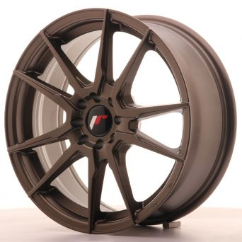 Japan Racing Wheels - JR-21 Matt Bronze (17x7 inch)