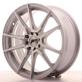 Japan Racing Wheels - JR-21 Silver Machined (17x7 inch)