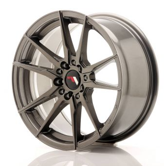 Japan Racing Wheels - JR-21 Hyper Black (17x8 inch)