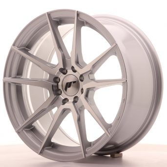 Japan Racing Wheels - JR-21 Silver Machined (17x8 inch)