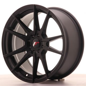 Japan Racing Wheels - JR-21 Matt Black (17x8 inch)