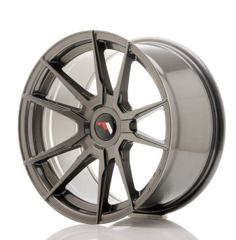 Japan Racing Wheels - JR-21 Hyper Black (17x9 inch)