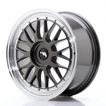 Japan Racing Wheels - JR-23 Hiper Black (18x8 inch)