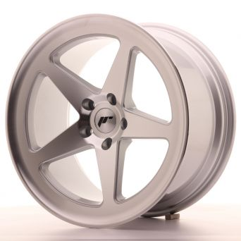 Japan Racing Wheels - JR-24 Machined Silver (18x9.5 Zoll)