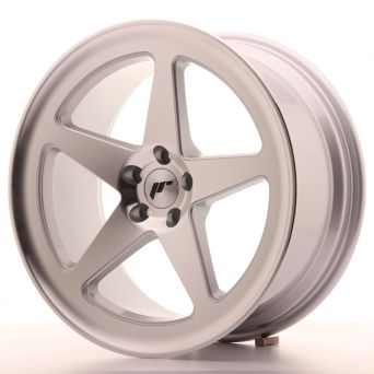 Japan Racing Wheels - JR-24 Machined Silver (19x8.5 inch)