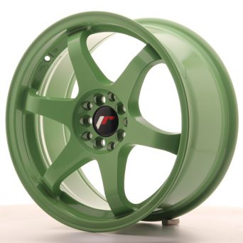 Japan Racing Wheels - JR-3 Green (17x8 inch)