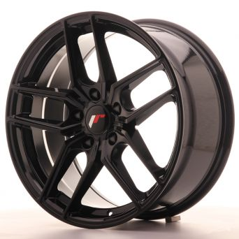 Japan Racing Wheels - JR-25 Glossy Black (18x8.5 inch)