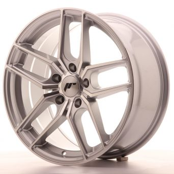 Japan Racing Wheels - JR-25 Silver Machined (18x8.5 inch)
