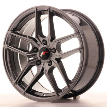 Japan Racing Wheels - JR-25 Hiper Black (18x8.5 inch)