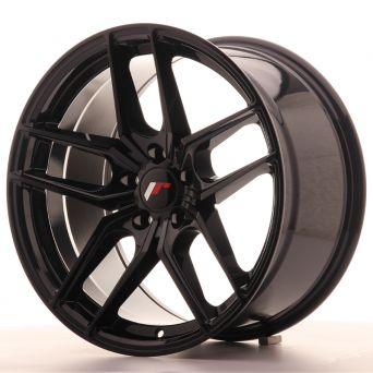 Japan Racing Wheels - JR-25 Glossy Black (18x9.5 inch)