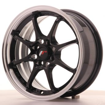 Japan Racing Wheels - JR-5 Glossy Black (15x7 inch)