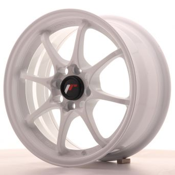 Japan Racing Wheels - JR-5 White (15x7 inch)