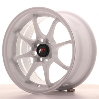 Japan Racing Wheels - JR-5 White (15x8 inch)