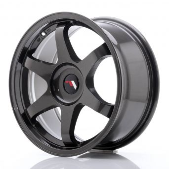 Japan Racing Wheels - JR-3 Dark Hyper Black (17x8 inch)