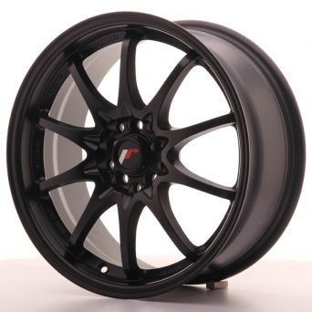 Japan Racing Wheels - JR-5 Matt Black (17x7.5 inch)