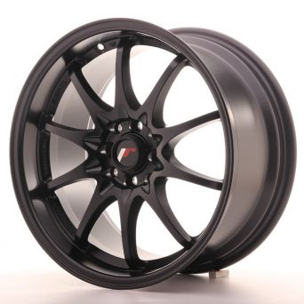 Japan Racing Wheels - JR-5 Matt Black (17x8.5 inch)