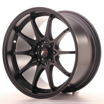 Japan Racing Wheels - JR-5 Matt Black (17x9.5 inch)