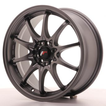 Japan Racing Wheels - JR-5 Matt Gun Metal (17x7.5 inch)